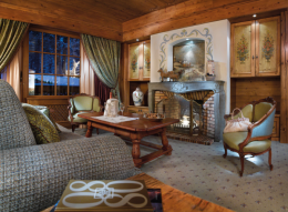 Suite on ski run side